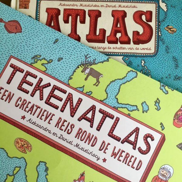 Tekenatlas-De Verhalenwinkel